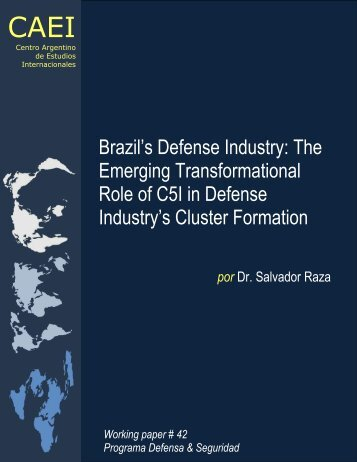 Brazil's Defense Industry: The Emerging Transformational ... - CAEI