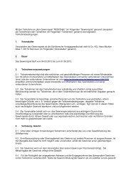 Teilnahmebedingungen - Schlütersche Verlagsgesellschaft