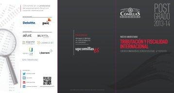 tributación y fiscalidad internacional - Universidad Pontificia Comillas
