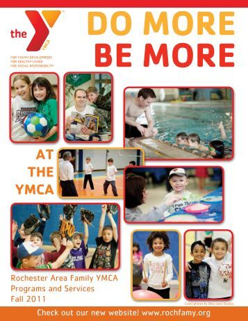 AT THE YMCA - Rochester Area Family YMCA