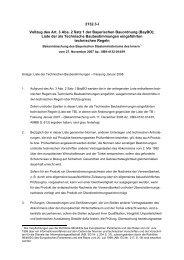 Liste der Technischen Baubestimmungen - Fassung Januar 2008