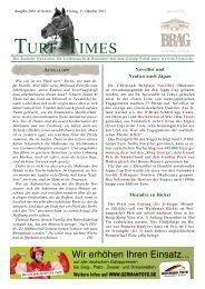aufgalopp - Turf-Times