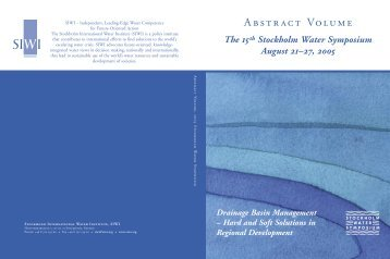 2005 Abstract Volume - World Water Week