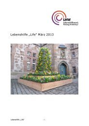 "Lebenshilfe ""Life"" März 2013 - Lebenshilfewerk Marburg ..."