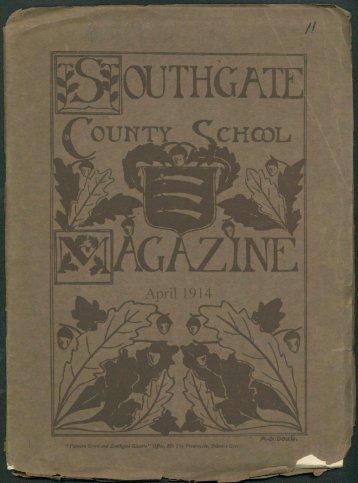 No 11 - April 1914 - Southgate County School