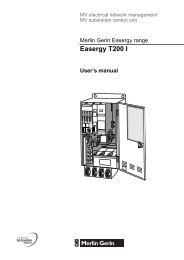 Easergy T200 I user manual - Schneider Electric