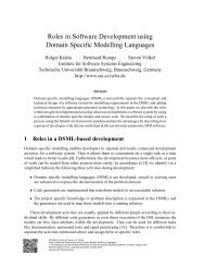 Roles in Software Development using Domain Specific Modelling ...