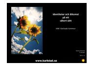 Gunnar Kartman, Karlstad kommun - KommITS