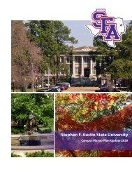 view Campus Master Plan 2020 - Stephen F. Austin State University