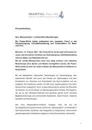 Mesoporation = Schmerzfreie - Praxis - Klinik