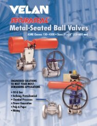 metal-seated ball valves - vstup na DIVEL