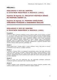 PŘÍLOHA 1 - CENIA, česká informační agentura životního prostředí