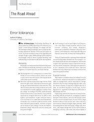 Error tolerance - UCSD VLSI CAD Laboratory