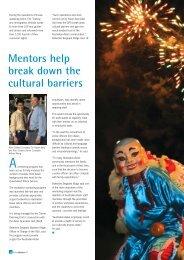 Mentors help break down the cultural barriers - Queensland Police ...