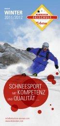 SchneeSport mit Kompetenz und Qualität ... - Skischule St. Anton