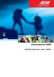 Informationen BSM 2013_dt.indd - Polizei - Kanton Bern