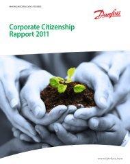 Corporate Citizenship Rapport 2011 - Danfoss