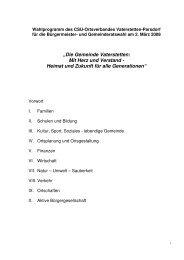 """""""Die Gemeinde Vaterstetten: Mit Herz und Verstand - Heimat und ..."""