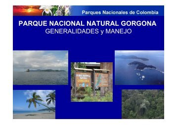 parque nacional natural gorgona - National Marine Sanctuaries