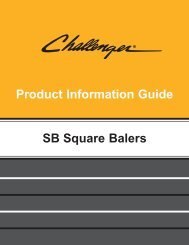 Challenger SB Series Small Square Balers - Kelly Tractor