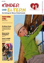 Sommer-Action in Wien - Kinderfreunde