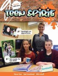 Summer 2012 Teen Spirit - Sentinel Housing Association