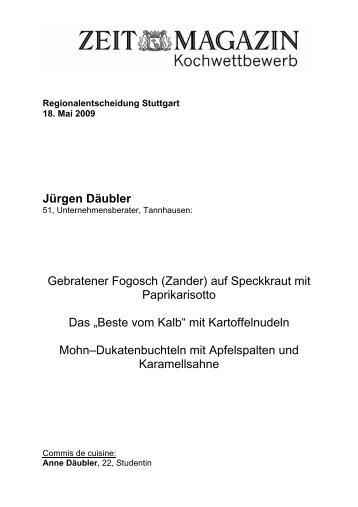 Rezept (PDF) - Die Zeit