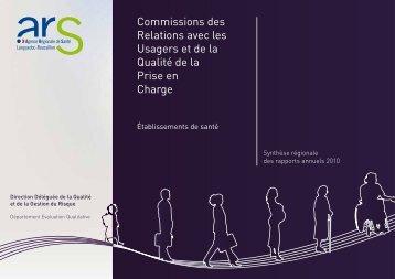 Synthèse régionale des rapports annuels 2010 des CRUQPC pdf