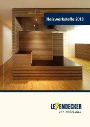 Holzwerkstoffkatalog 2013 - Leyendecker