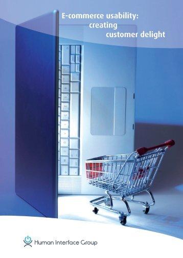 E-commerce usability: creating customer delight - Minoc