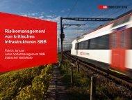 Kritische Infrastrukturen SBB