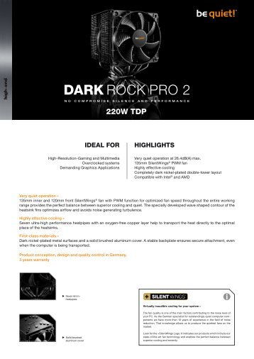 DARK ROCK PRO 2 - be quiet!