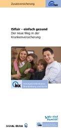 ISIfair - IKK Brandenburg und Berlin