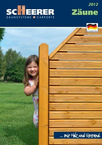 PDF Katalog von Scheerer - Holz Wiegand