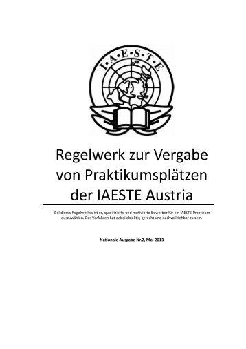 Rankingregeln - IAESTE Austria