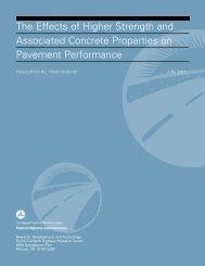 The Effects of Higher Strength and Associated Concrete Properties ...