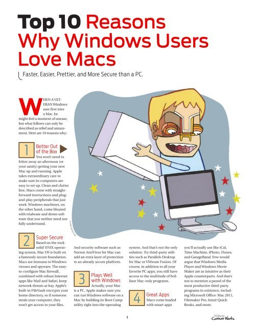 Top 10 Reasons Why Windows Users Love Macs - PC Connection