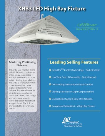 XHB3 LED High Bay Fixture - LSI Industries Inc.