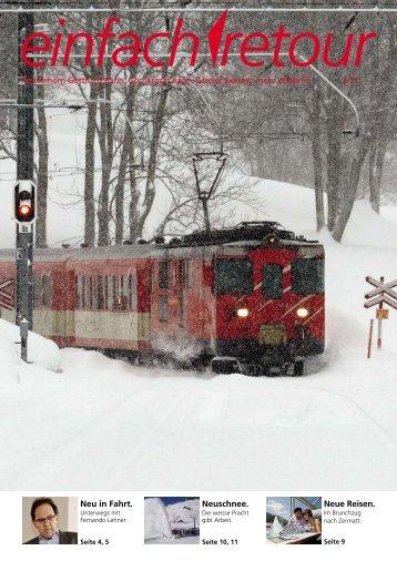 Dezember 2012 - Gornergrat Bahn