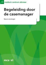 Begeleiding door de casemanager – Neuro-oncologie - Mca