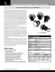 SEALED DOME PUSHBUTTON SWITCHES - Farnell