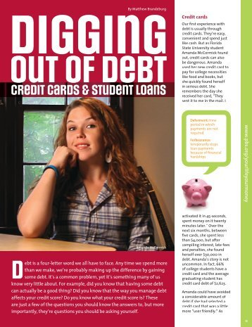 Credit cards & student loans - PBS