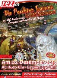 Flyer | Perchten-Event 2013, im REZ Heimstetten