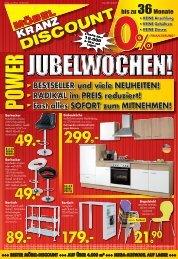 Möbel Kranz Discount Uelzen • Power Jubelwochen