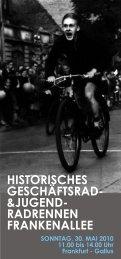 HISTORISCHES GESCHÄFTSRAD- &JUGEND;- RADRENNEN ...
