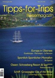 Tipps-for-Trips  Reisemagazin 1.2014