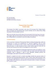 Fusarium Toxin Forum 2010 Position Paper