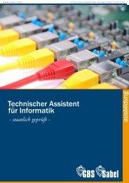 Sabel / GBS München | Technischer Assistent für Informatik