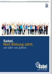 Sabel München | Imagebroschüre