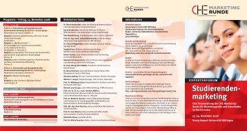 Che flyer:layout 1 - Centrum für Hochschulentwicklung